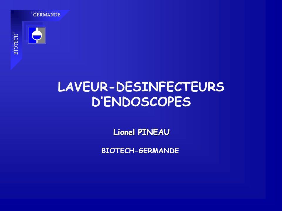 LAVEUR-DESINFECTEURS D'ENDOSCOPES