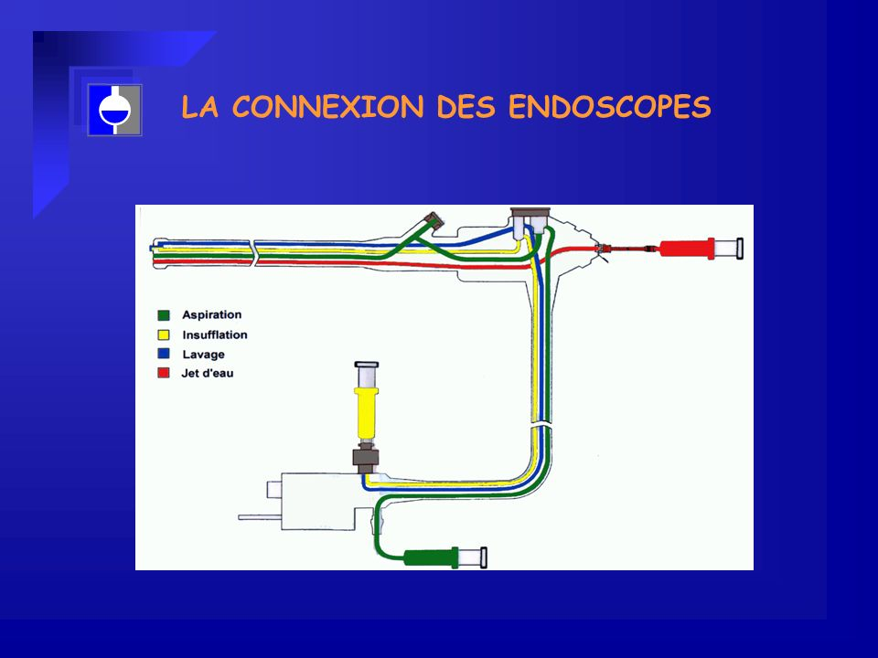 LA CONNEXION DES ENDOSCOPES