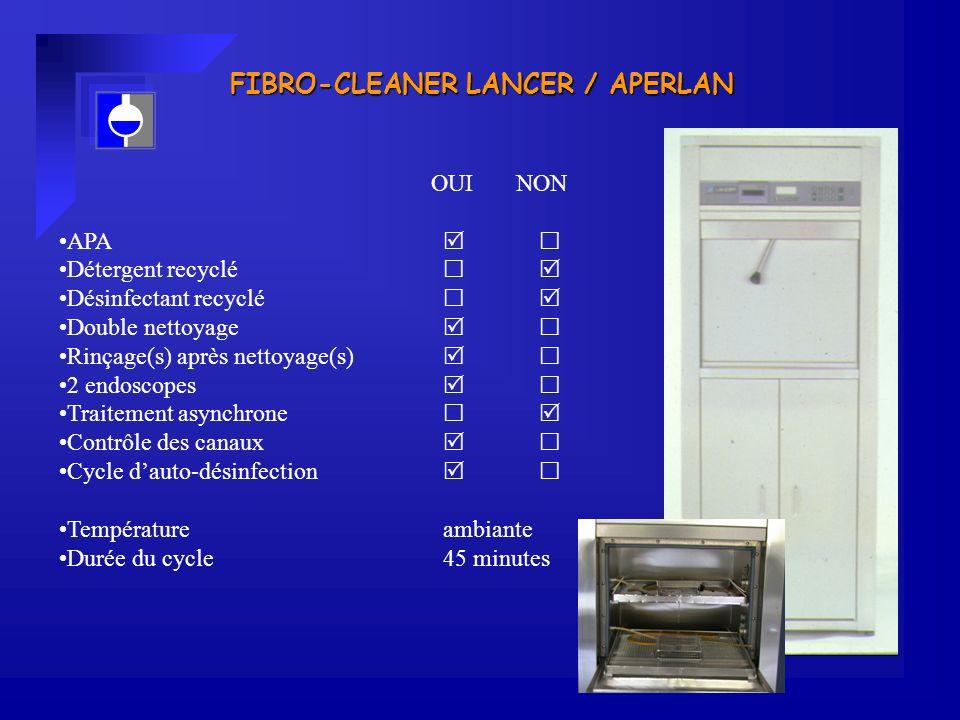 FIBRO-CLEANER LANCER / APERLAN