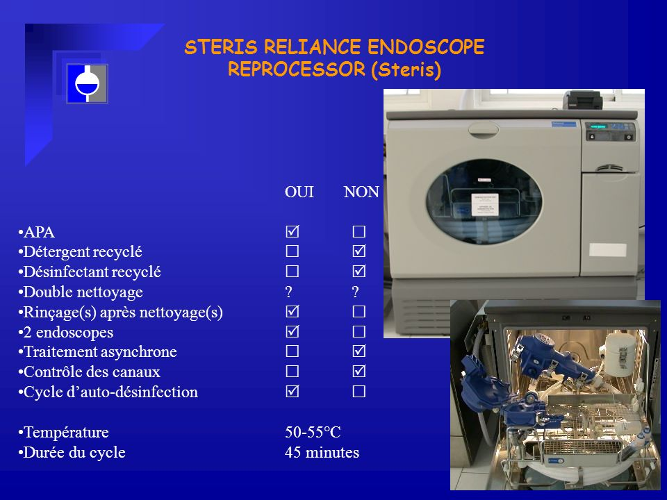 STERIS RELIANCE ENDOSCOPE