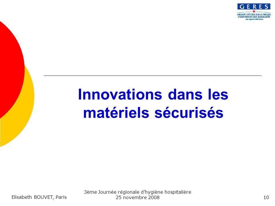 Innovations dans les matériels sécurisés