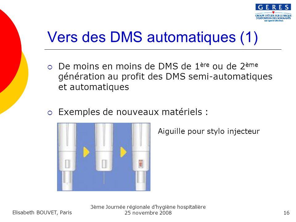 Vers des DMS automatiques (1)