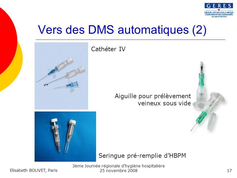 Vers des DMS automatiques (2)