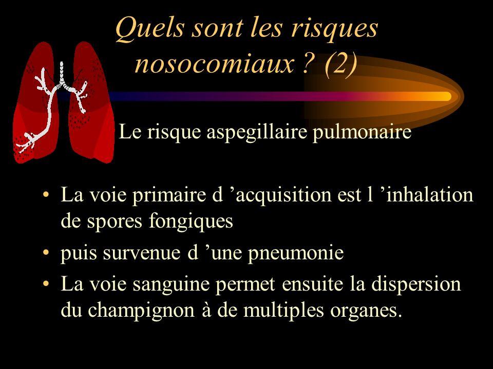 Quels sont les risques nosocomiaux (2)