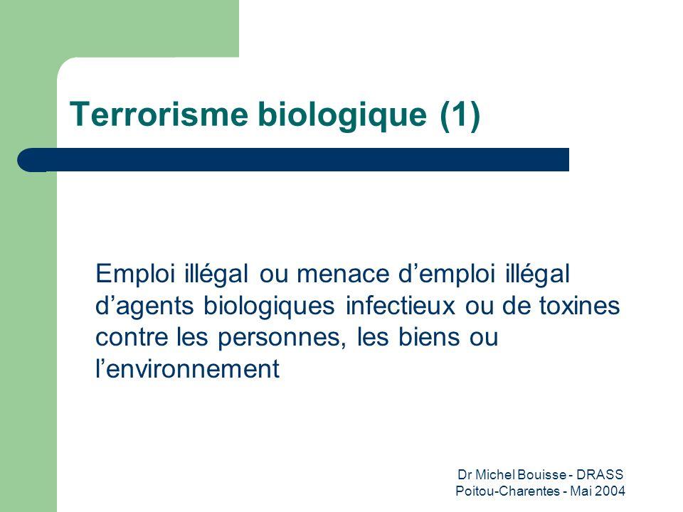 Terrorisme biologique (1)