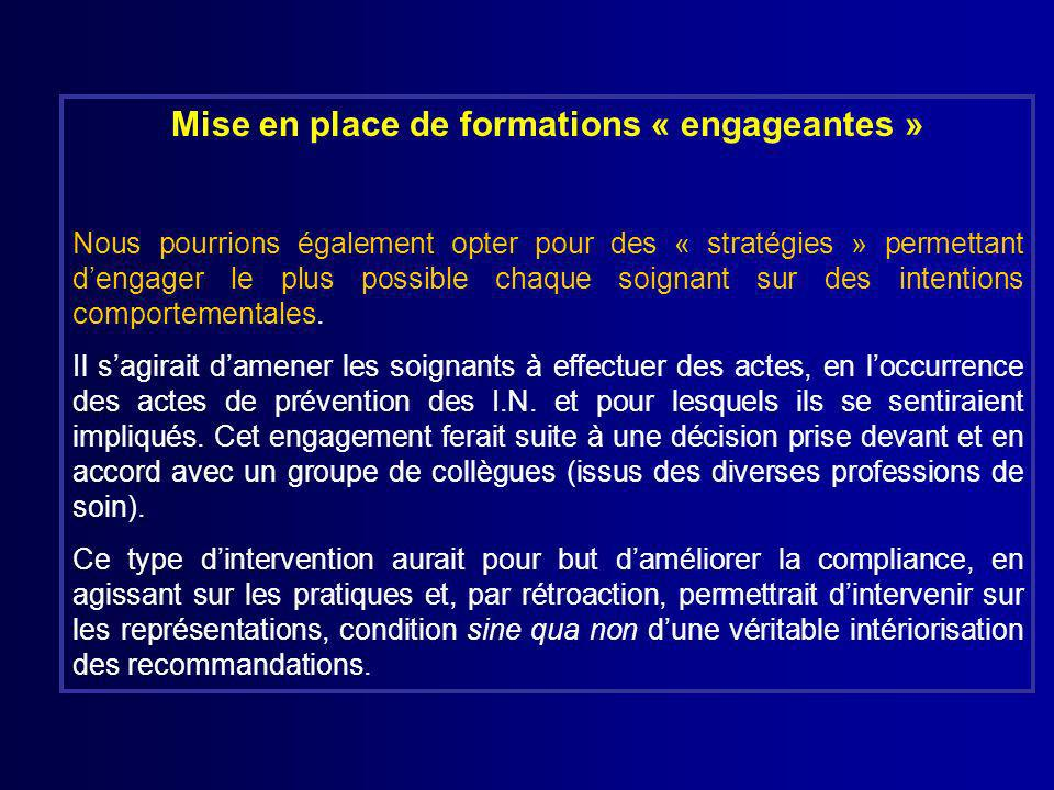 Mise en place de formations « engageantes »