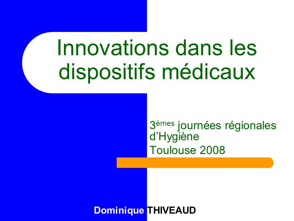Innovations dans les dispositifs médicaux