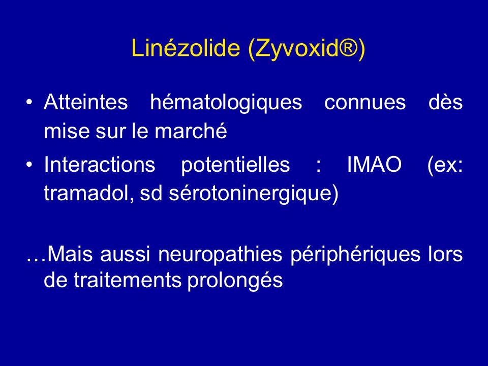 Linézolide (Zyvoxid®)