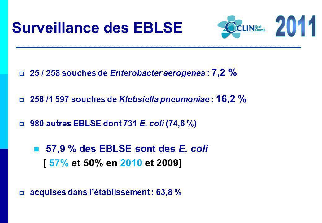 Surveillance des EBLSE 2011