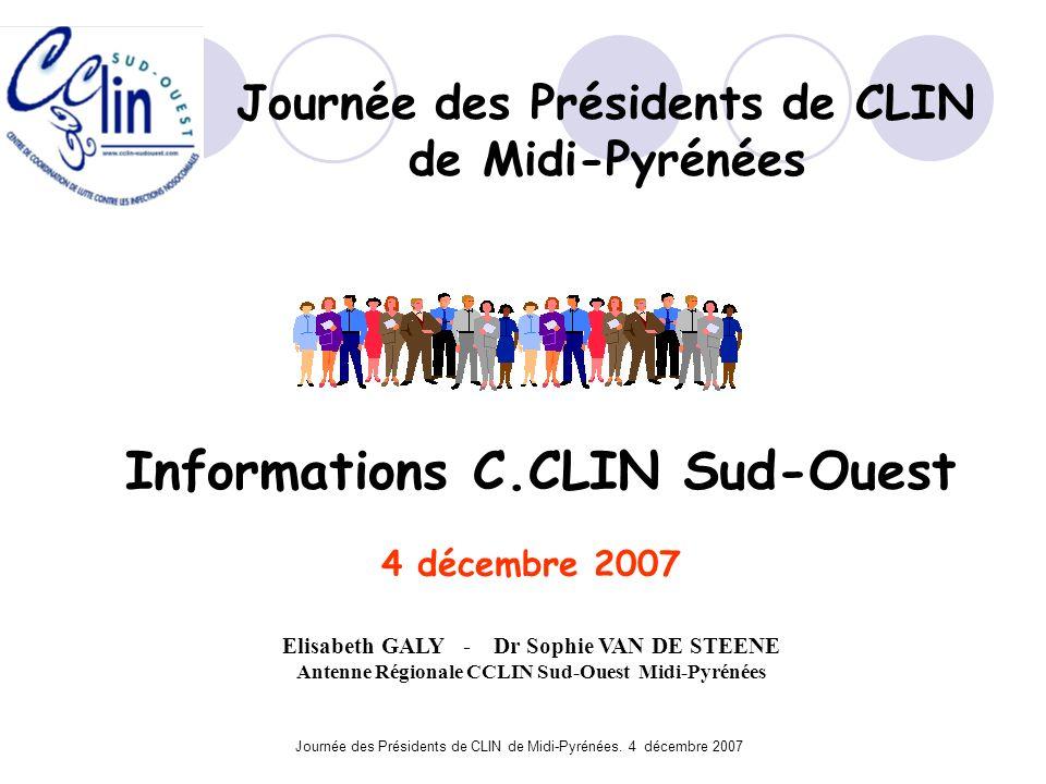 de Midi-Pyrénées Informations C.CLIN Sud-Ouest