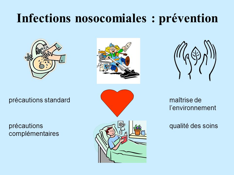 Infections nosocomiales : prévention