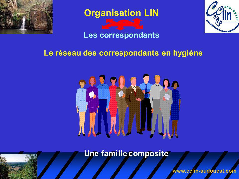 Le réseau des correspondants en hygiène