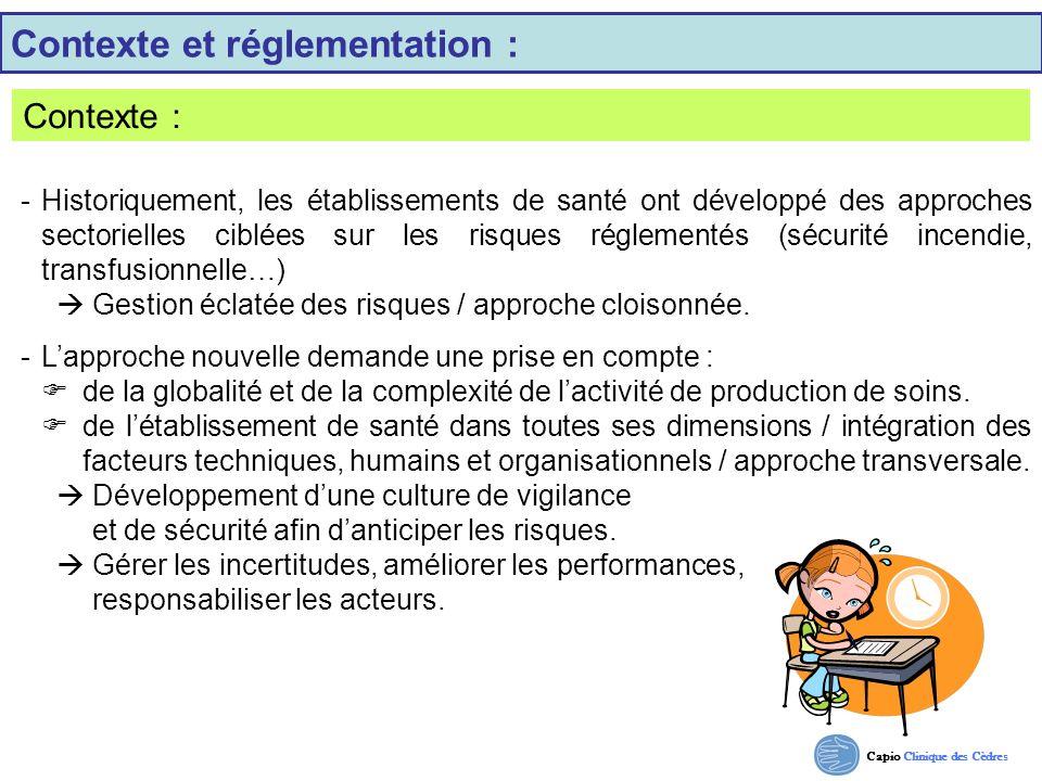 Contexte et réglementation :