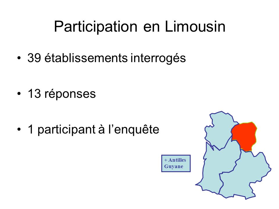 Participation en Limousin