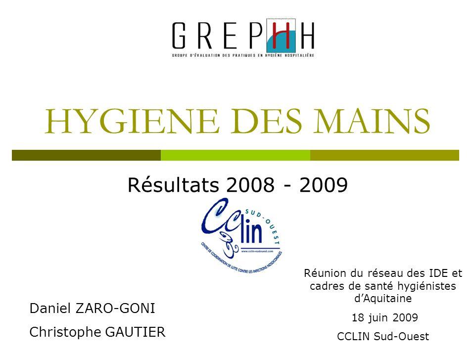 Réunion du réseau des IDE et cadres de santé hygiénistes d'Aquitaine