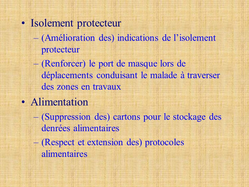 Isolement protecteur Alimentation