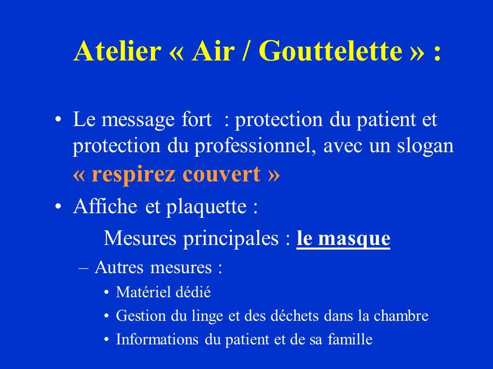 Atelier « Air / Gouttelette » :