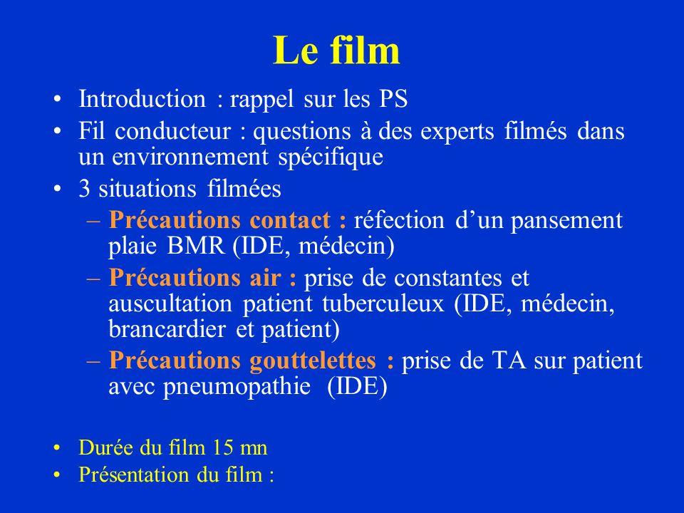 Le film Introduction : rappel sur les PS