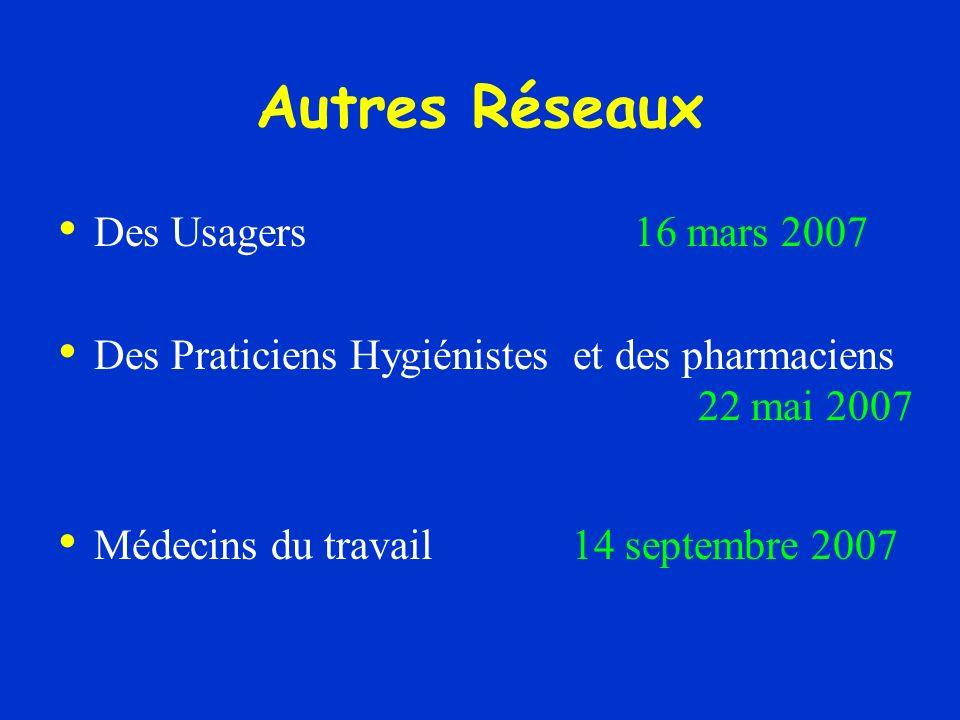 Autres Réseaux Des Usagers 16 mars 2007