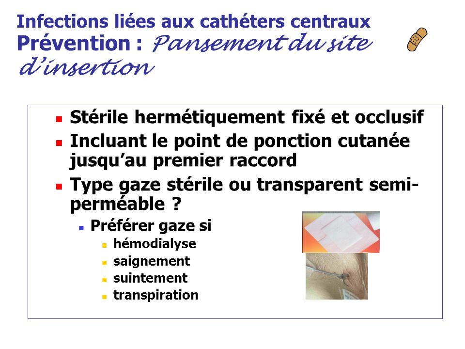 Stérile hermétiquement fixé et occlusif