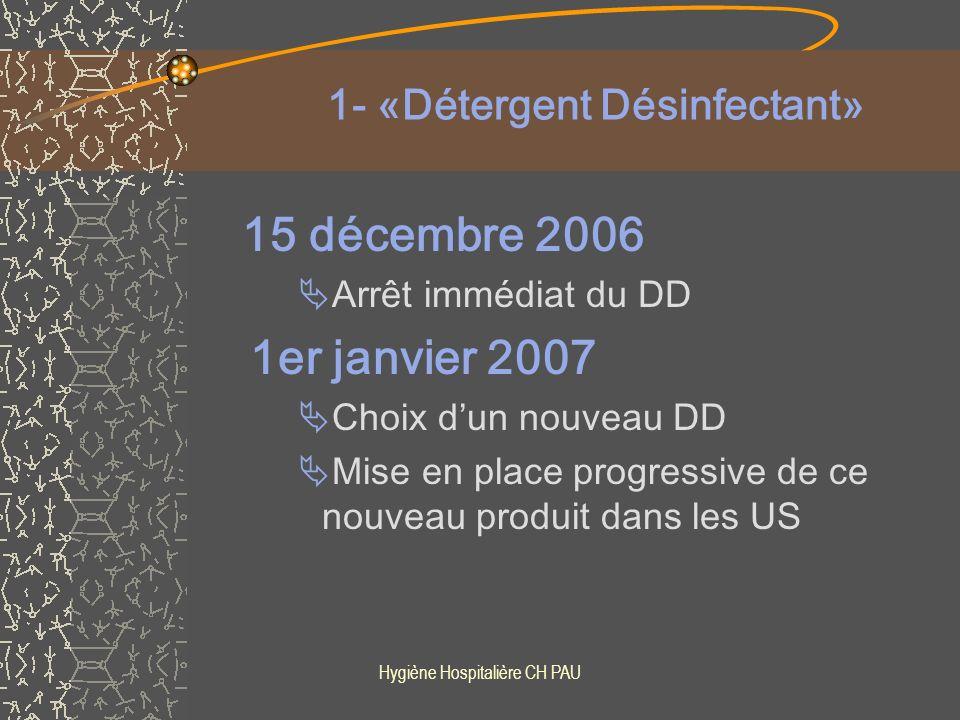 1- «Détergent Désinfectant»