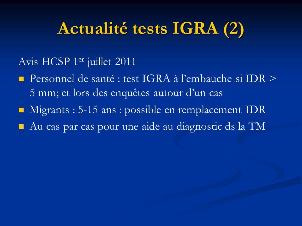 Actualité tests IGRA (2)