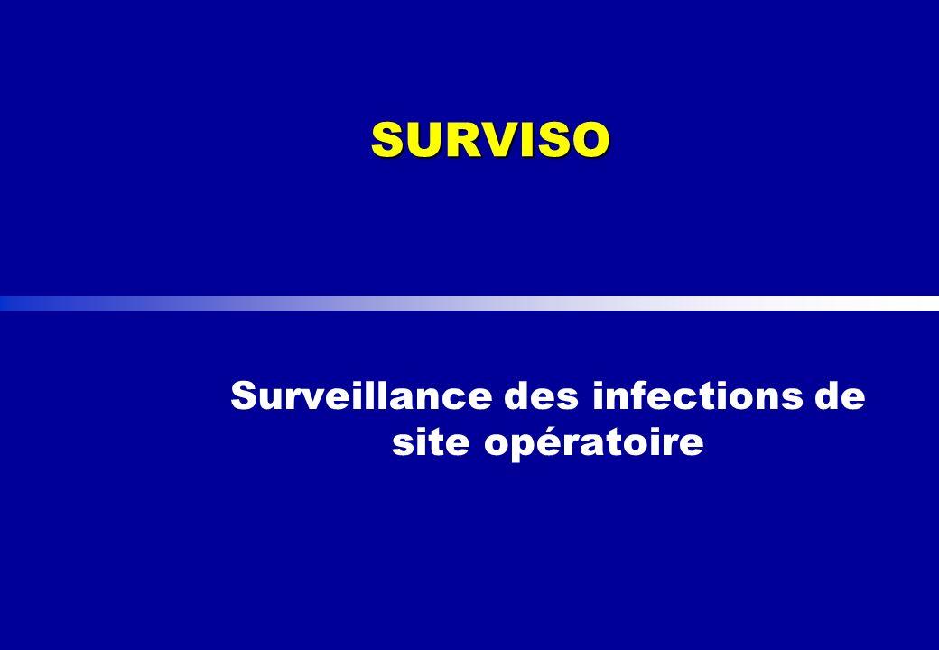Surveillance des infections de site opératoire