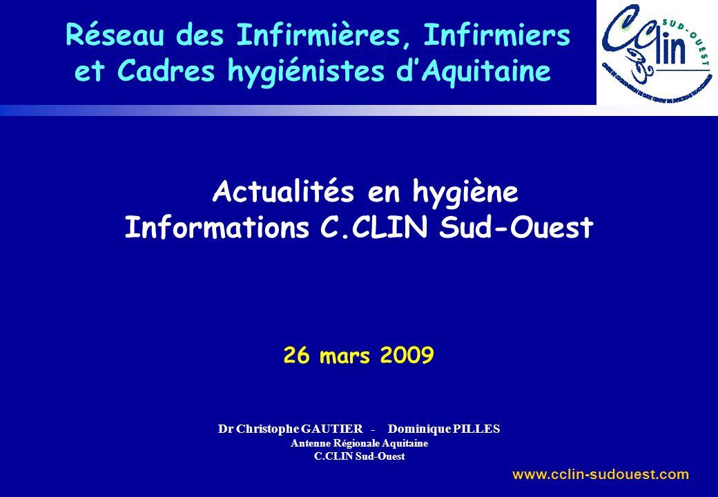 et Cadres hygiénistes d'Aquitaine