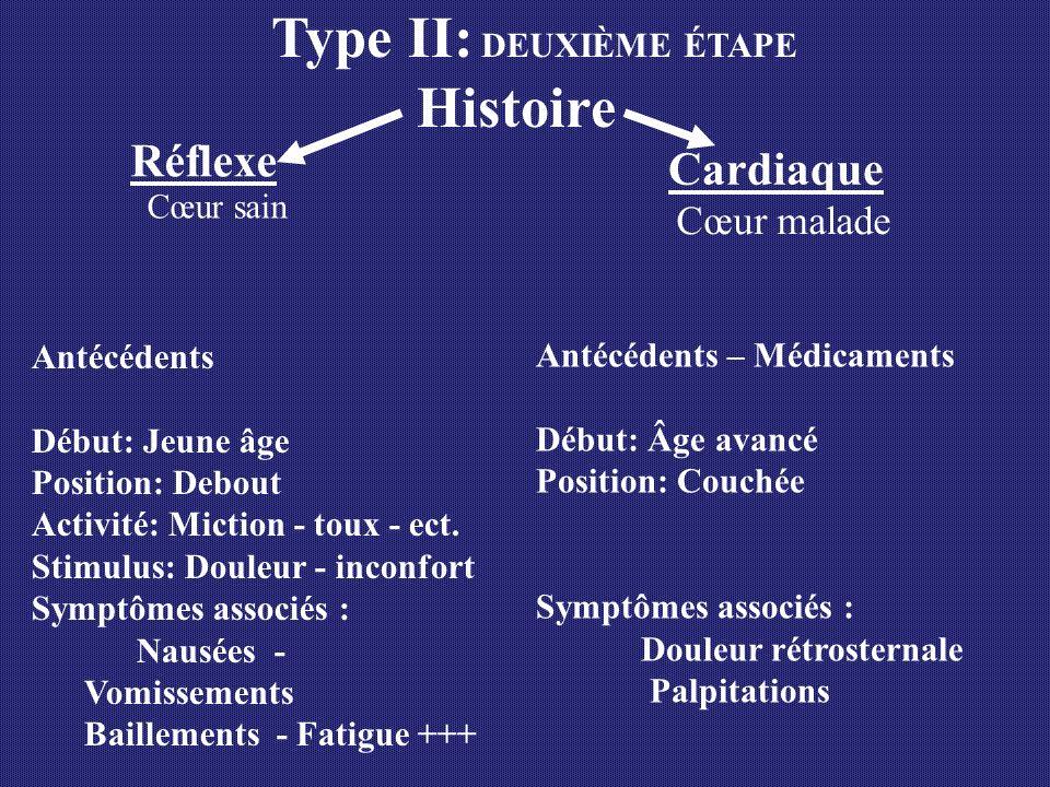 Type II: DEUXIÈME ÉTAPE Histoire