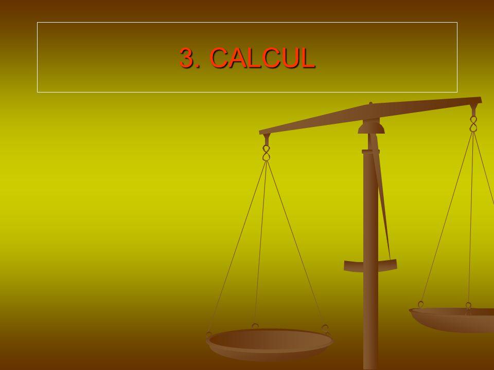 3. CALCUL