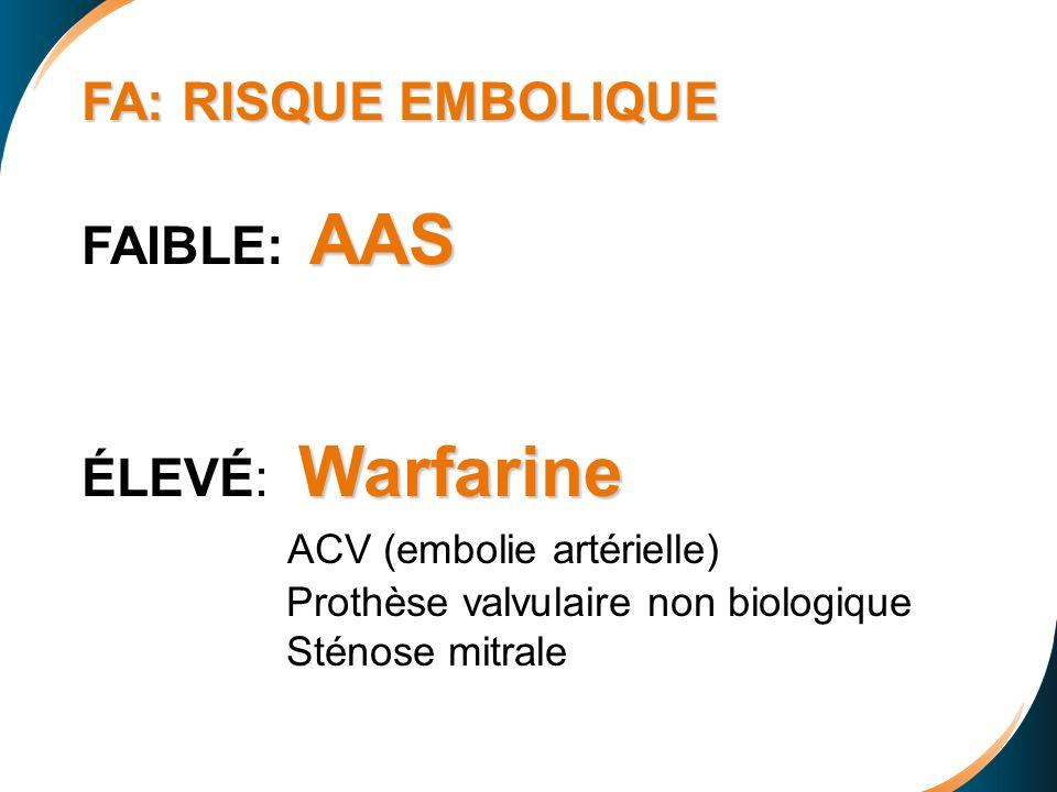 ACV (embolie artérielle)