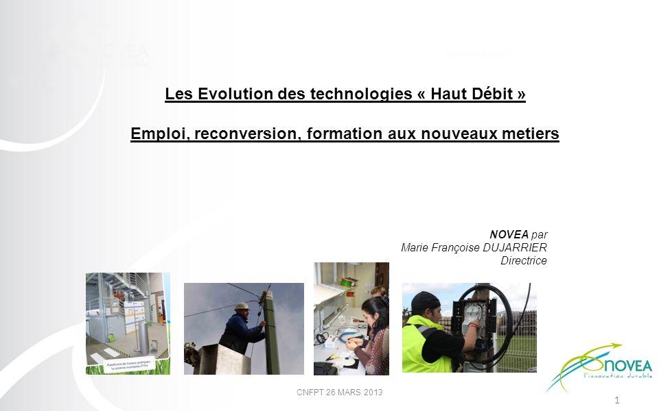 Les Evolution des technologies « Haut Débit »