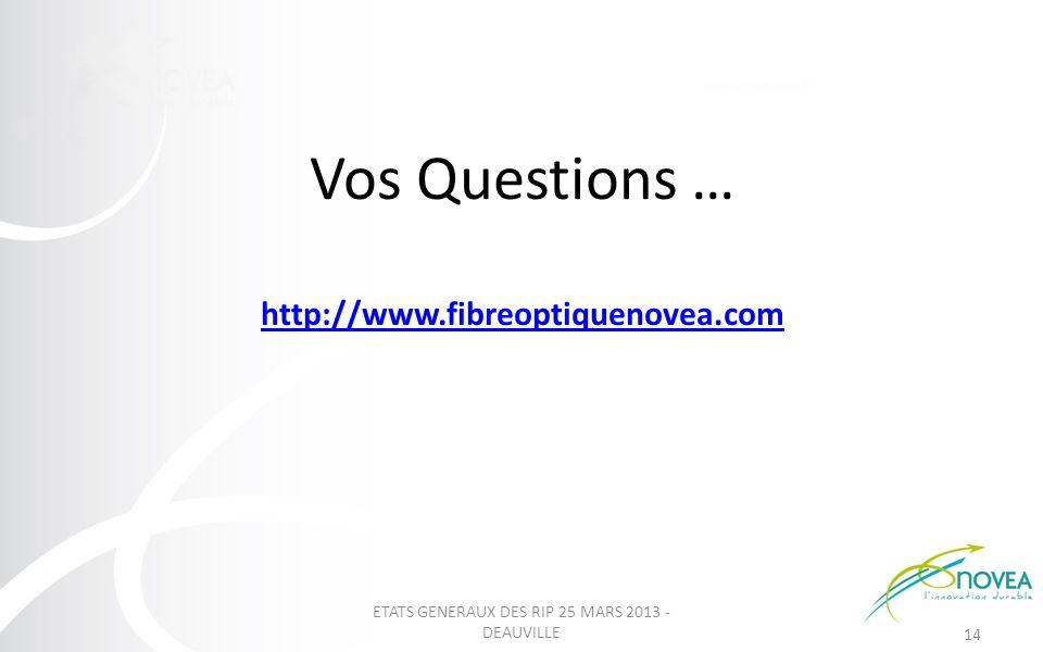 Vos Questions … http://www.fibreoptiquenovea.com