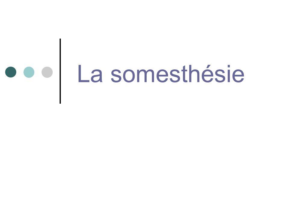 La somesthésie