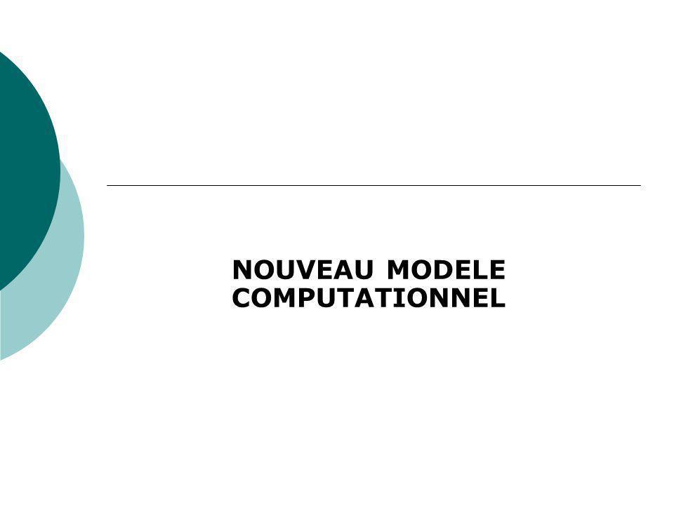 NOUVEAU MODELE COMPUTATIONNEL