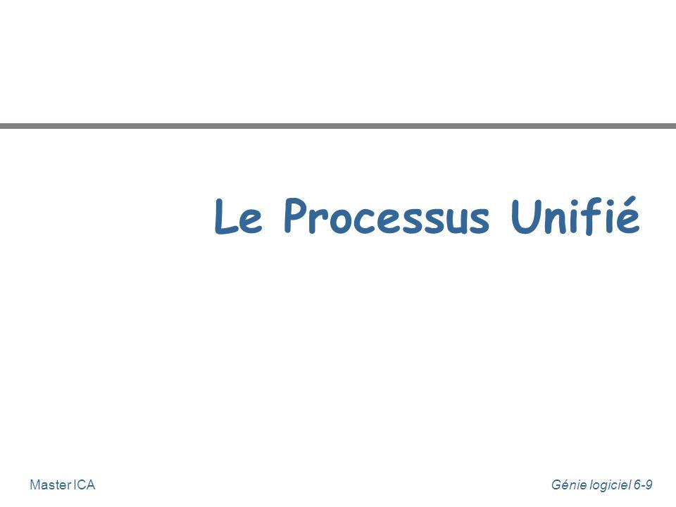 Le Processus Unifié Master ICA