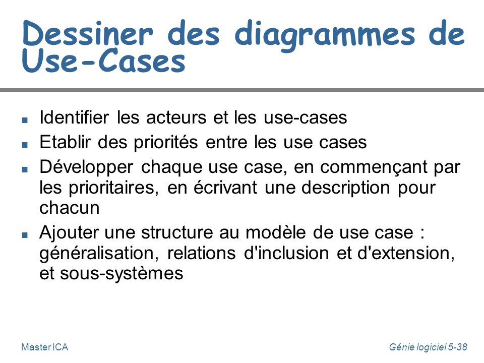 Dessiner des diagrammes de Use-Cases