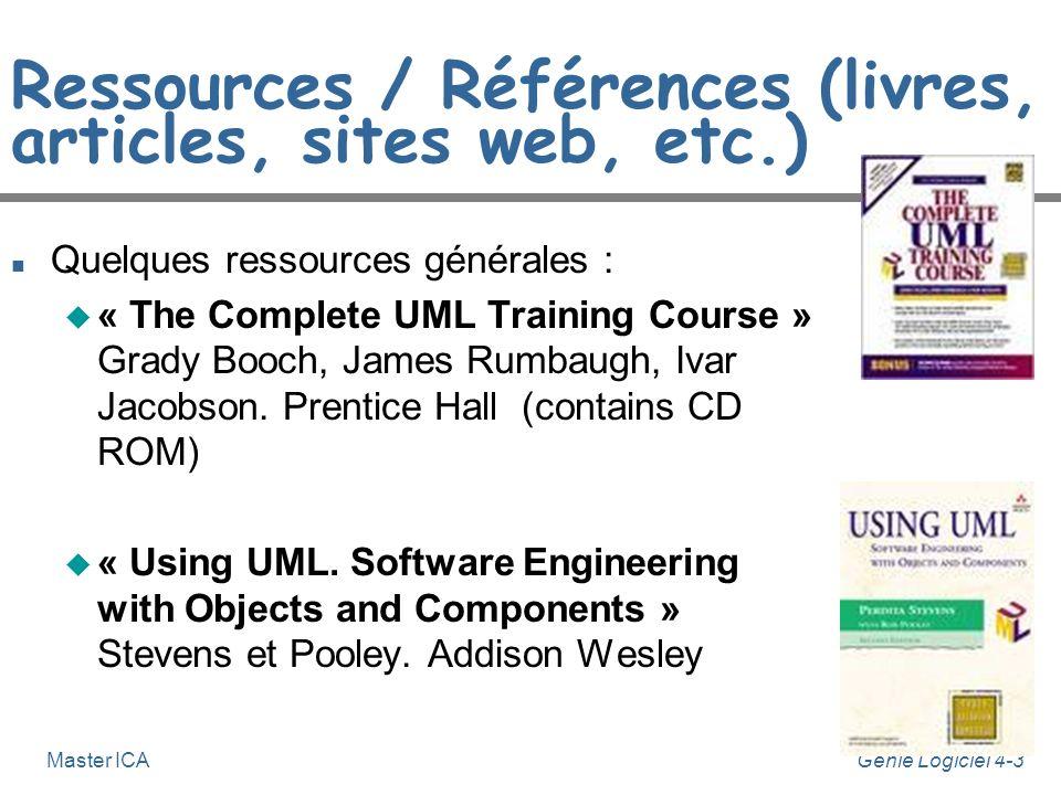 Ressources / Références (livres, articles, sites web, etc.)
