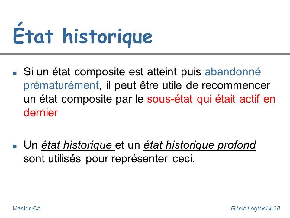 État historique