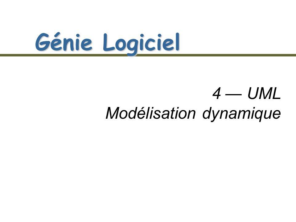 4 — UML Modélisation dynamique
