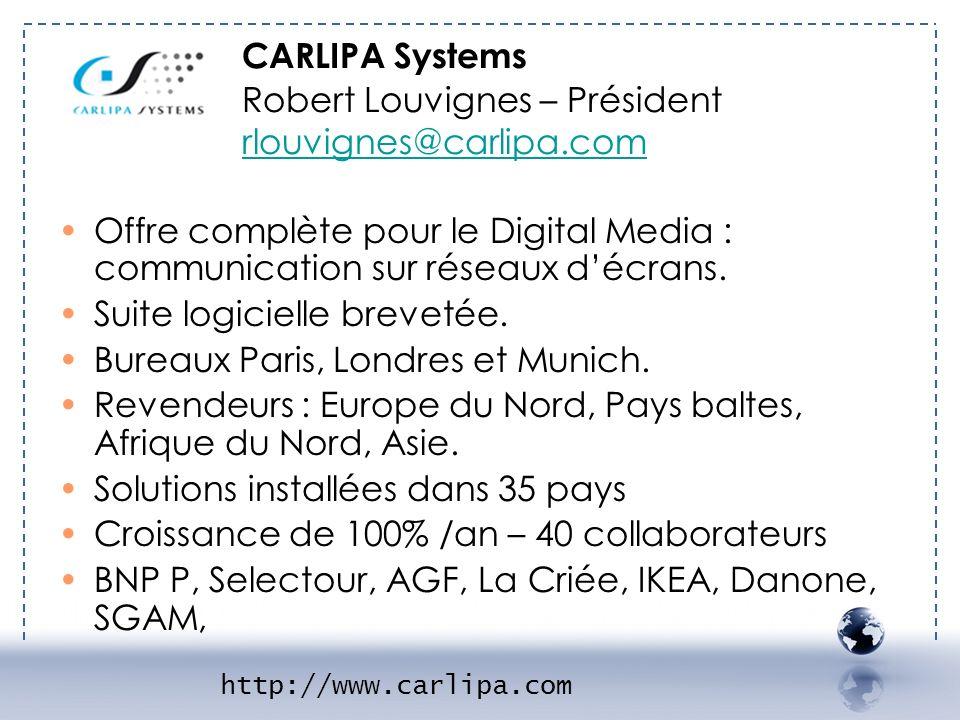 Robert Louvignes – Président rlouvignes@carlipa.com