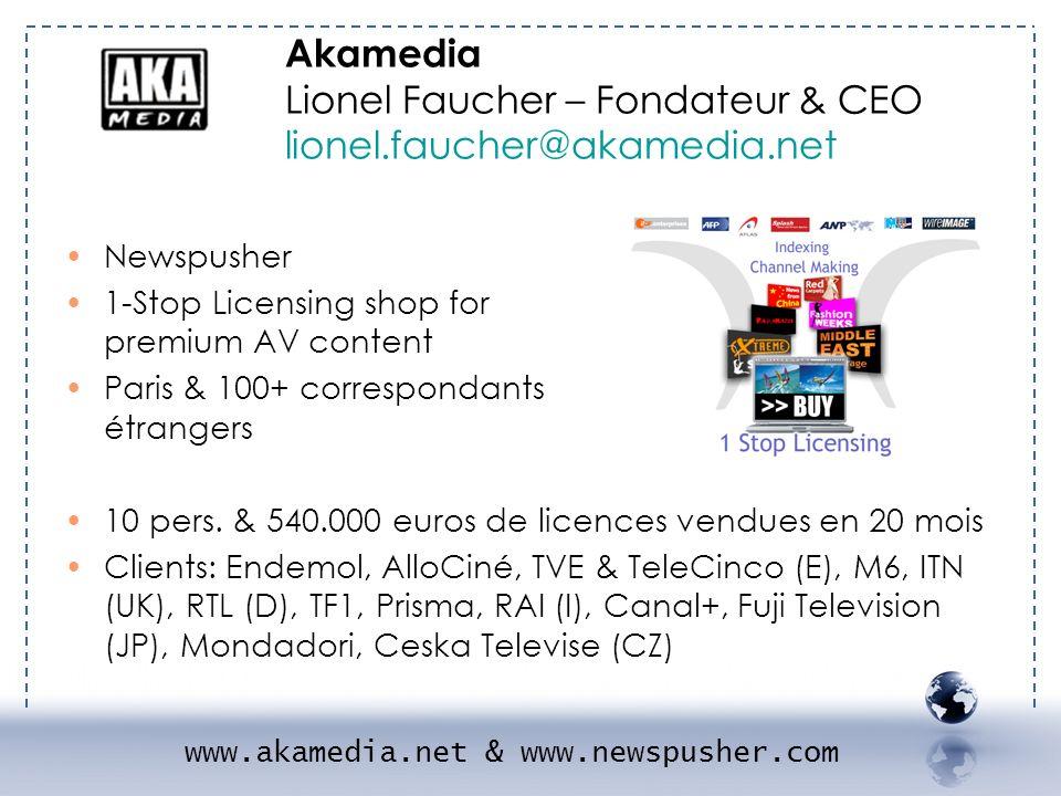 www.akamedia.net & www.newspusher.com