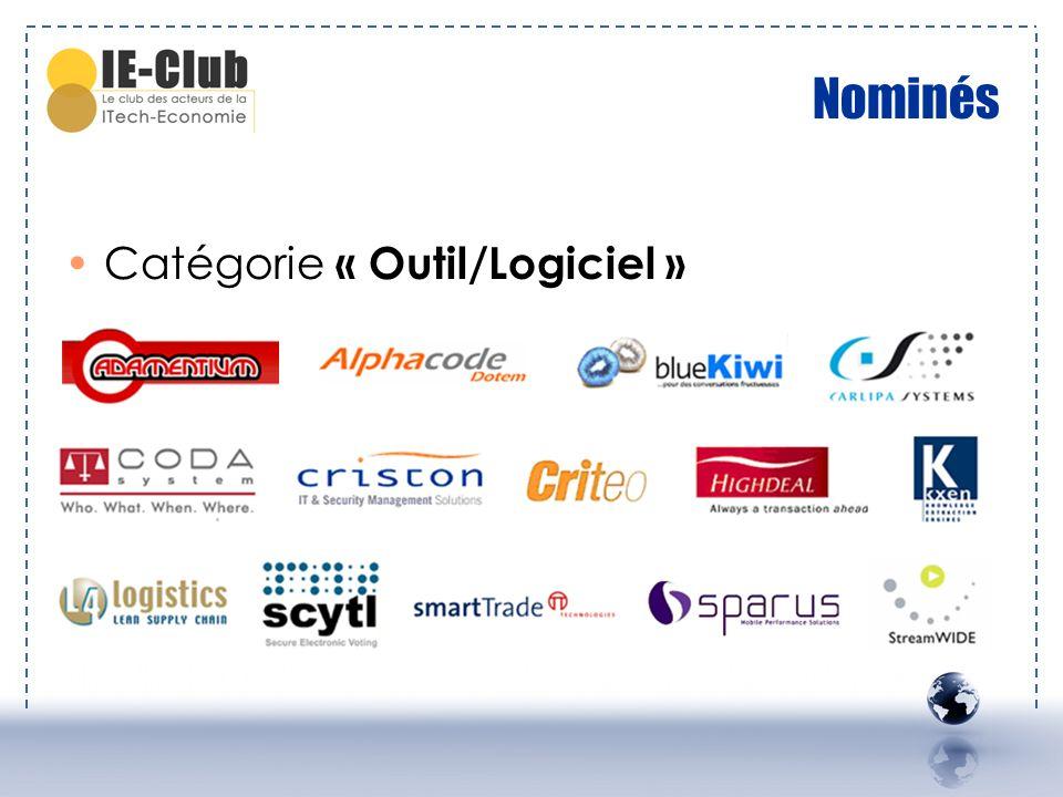 Nominés Catégorie « Outil/Logiciel »
