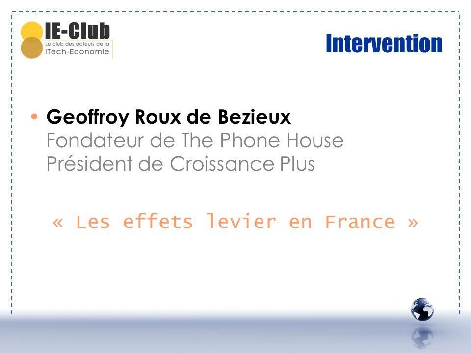 « Les effets levier en France »