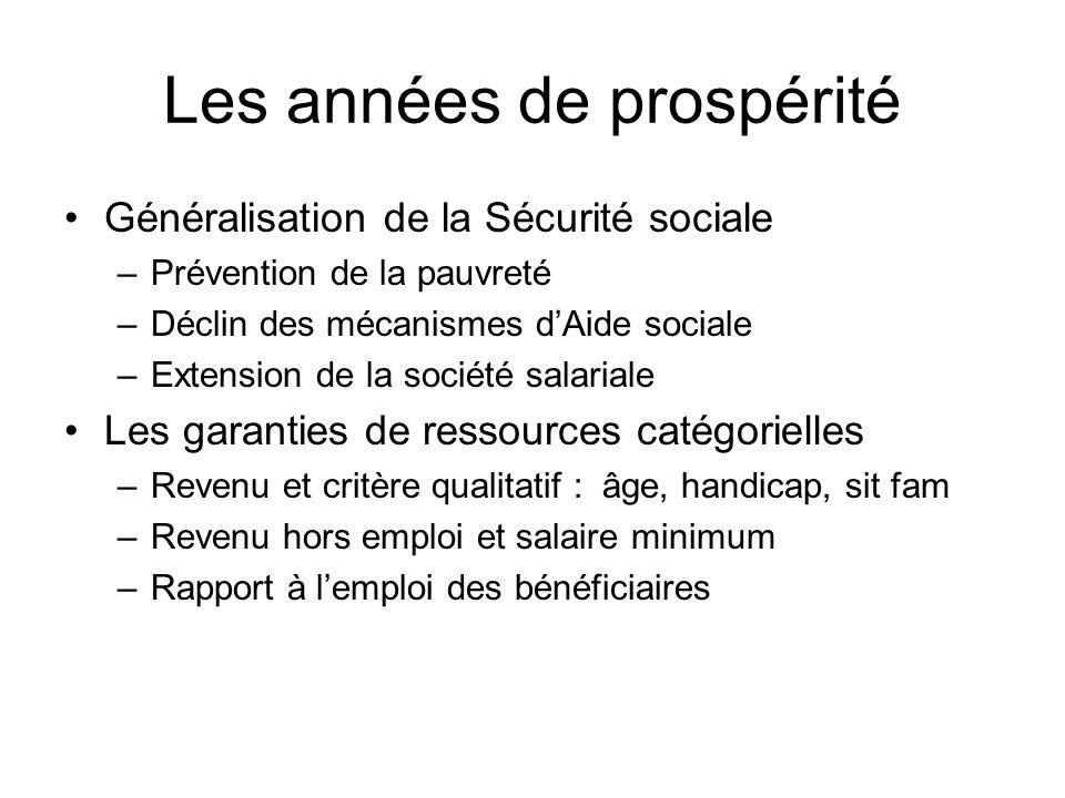 Les années de prospérité
