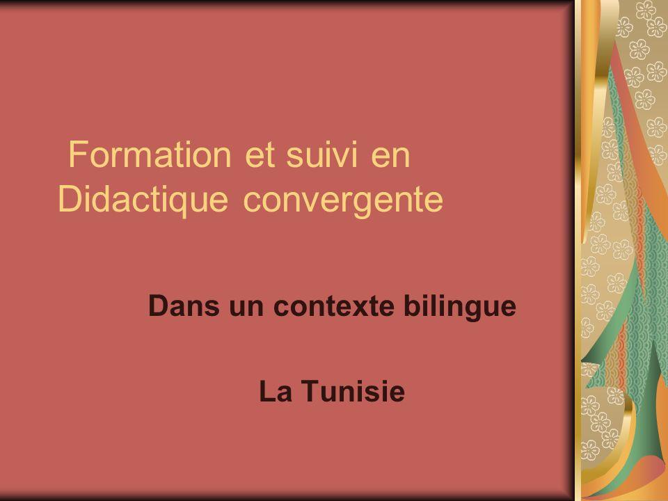 Formation et suivi en Didactique convergente