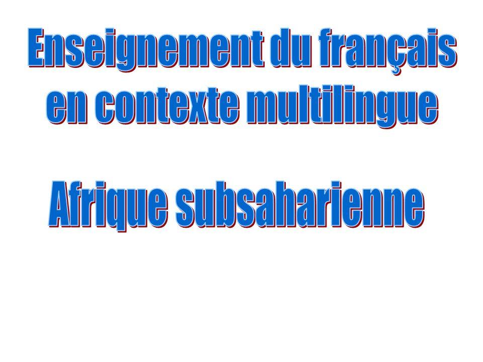 Enseignement du français en contexte multilingue