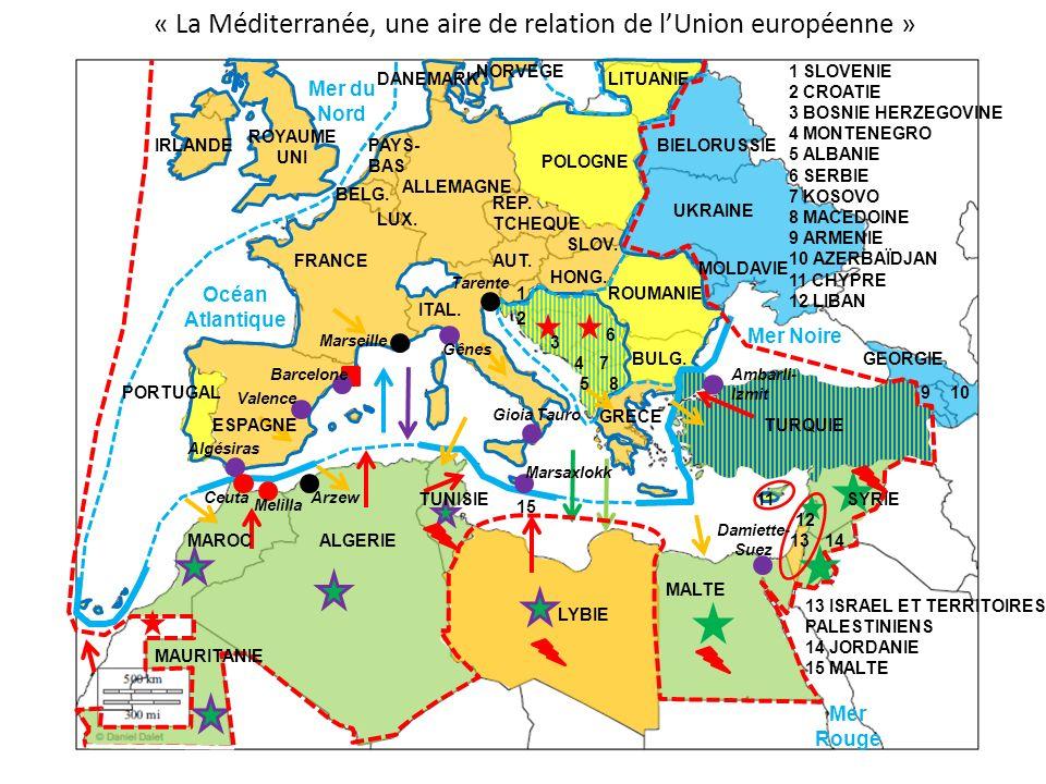 « La Méditerranée, une aire de relation de l'Union européenne »