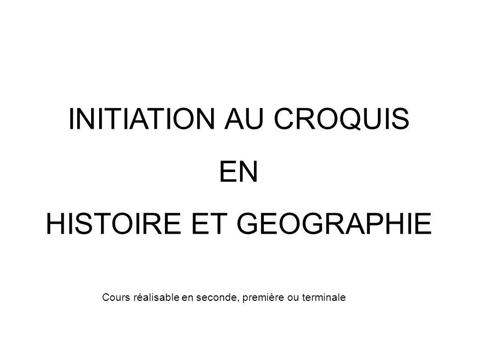 HISTOIRE ET GEOGRAPHIE