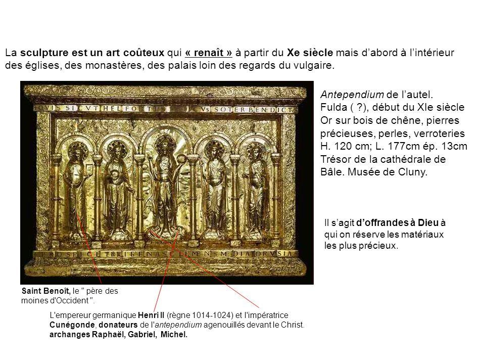Antependium de l'autel. Fulda ( ), début du XIe siècle